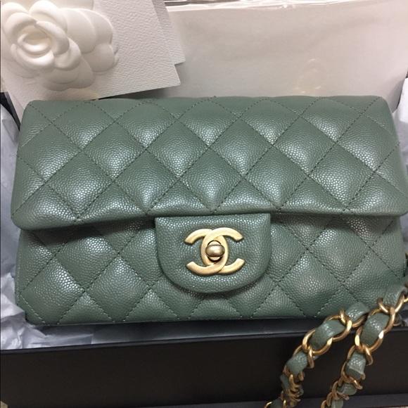 e054752ecfea92 CHANEL Handbags - CHANEL rectangular mini 2017